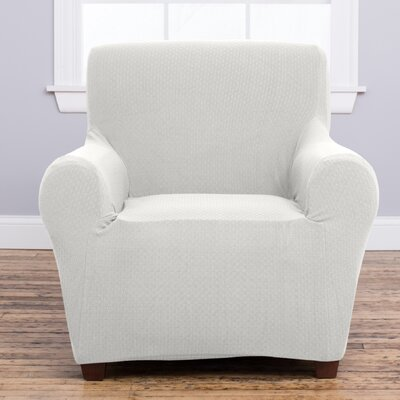 Amilio Armchair Slipcover Upholstery: Ivory