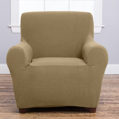 Amilio Armchair Slipcover Upholstery: Beige