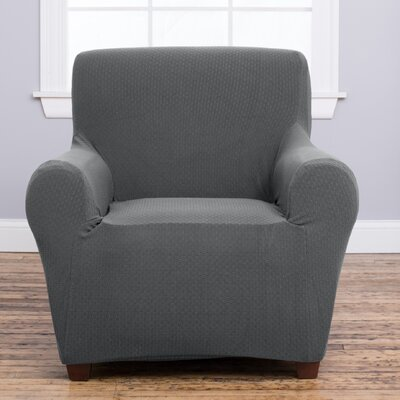 Amilio Armchair Slipcover Upholstery: Gray