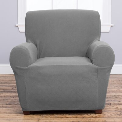 Cambria Armchair Slipcover Upholstery: Gray