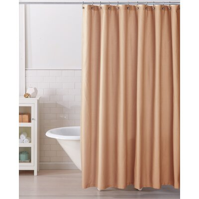 Monroe 100% Cotton Shower Curtain Color: Spanish Villa