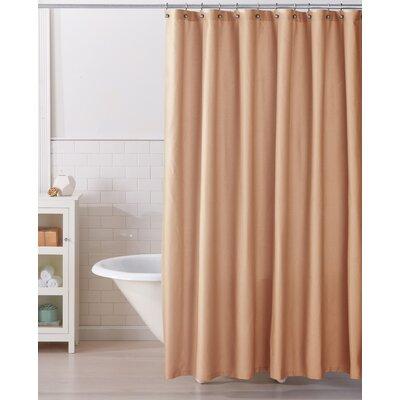 Monroe 100% Cotton Shower Curtain Color: Spanish Villa