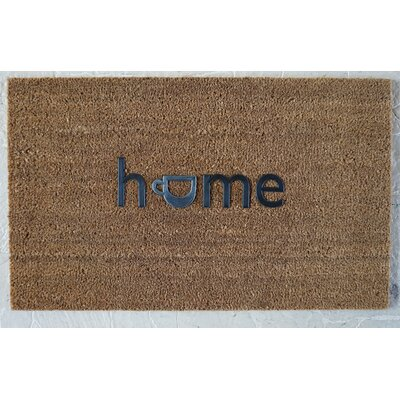 Hadley Coir Brushed Home Welcome Doormat