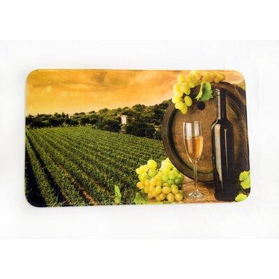 Vineyard Printed Fleece Mat