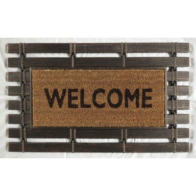 Montpelier Coir Brushed Welcome Doormat