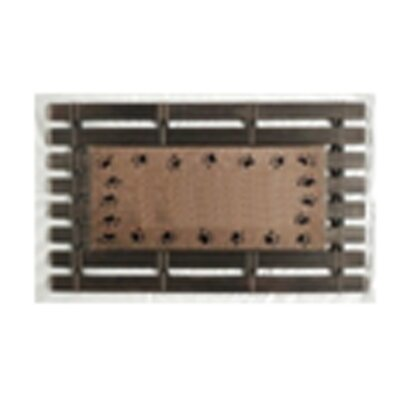 Montpelier Coir Brush Paw Prints Doormat