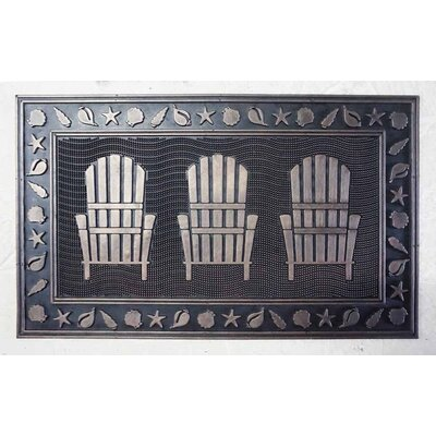 Sawyer Rubber Lawn Chairs Welcome Door Mat