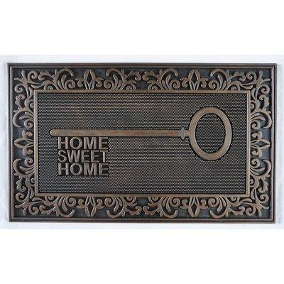 Sawyer Rubber Home Key Doormat