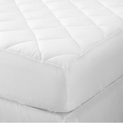 Merida Ultra Loft Seersucker Embossed Mattress Pad Size: Twin