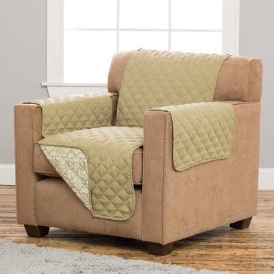 Katrina Box Cushion Armchair Slipcover Upholstery: Desert Sage