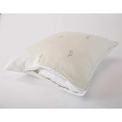 Riley Premium Rayon from Bamboo Pillow Protector Size: Standard