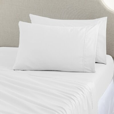 Joyanna Rich 1000 Thread Count Sheet Set Size: King, Color: White