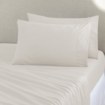 Joyanna Rich 1000 Thread Count Sheet Set Size: Queen, Color: Ivory