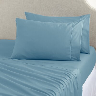 Joyanna Rich 1000 Thread Count Sheet Set Size: King, Color: Ether Blue