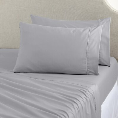Joyanna Rich 1000 Thread Count Sheet Set Size: King, Color: Glacier Gray