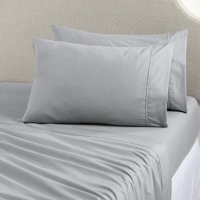 Shanna Rich 1200 Thread Count Sheet Set Size: Queen, Color: Light Gray