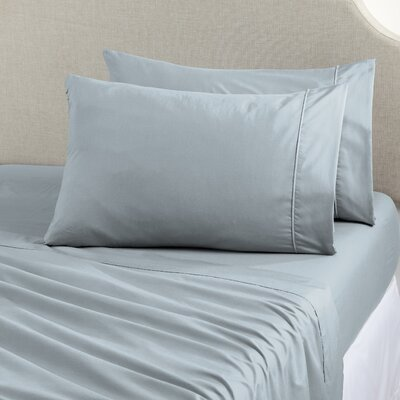 Shanna Rich 1200 Thread Count Sheet Set Size: King, Color: Pearl Blue