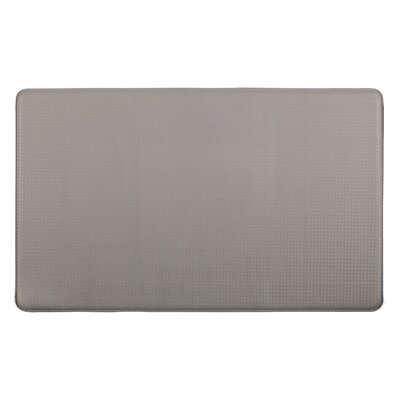 Kingston Solid Anti-Fatigue Kitchen Mat Color: Dove Gray