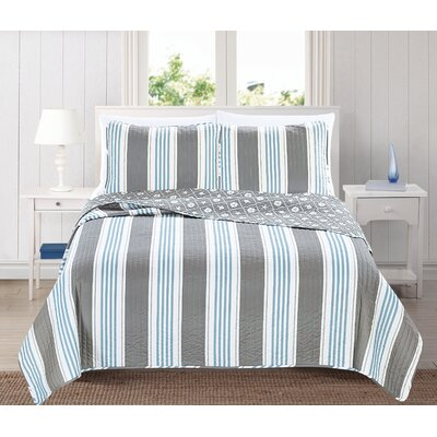 St. Croix 3 Piece Quilt Set Size: King