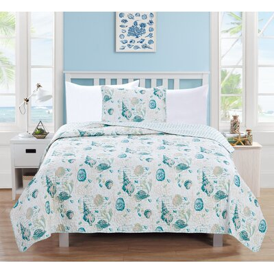 Westsands Reversible Quilt Set Size: Full/Queen
