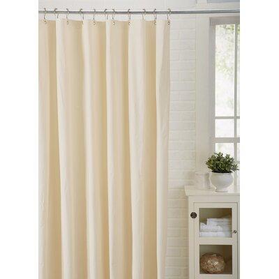 Spa Bath Works Mildew Resistant 100% PEVA Shower Curtain Liner Color: Ivory