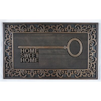 Sawyer Rubber Home Key Doormat