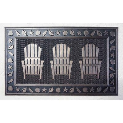 Sawyer Rubber Lawn Chairs Door Mat