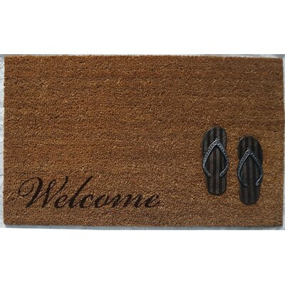 Hadley Coir Brushed Sandals Door Mat