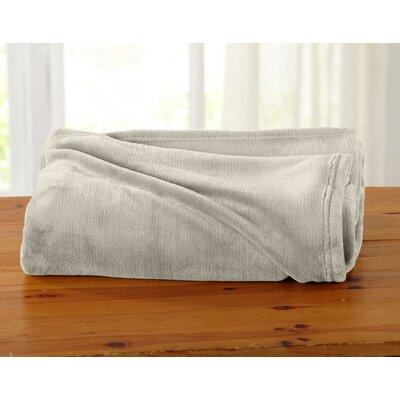 Jemma Ultra Velvet Plush Oversize Throw Color: Gray Morn