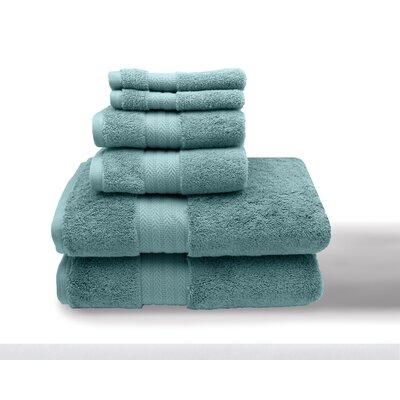 Leister 6 Piece Towel Set Color: Nile Blue