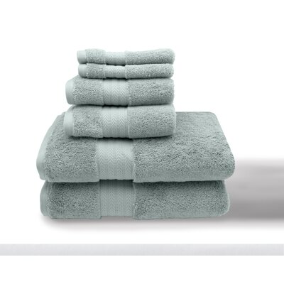 Leister 6 Piece Towel Set Color: Morning Mist