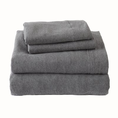 Matula Super Soft Jersey Sheet Set Size: Twin, Color: Oatmeal