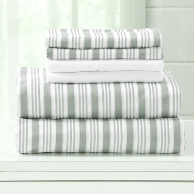 Hanley Microfiber  Sheet Set Size: Queen, Color: Green
