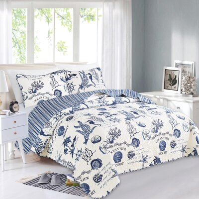 Canfield Reversible Quilt Set HIDN1856 45488115