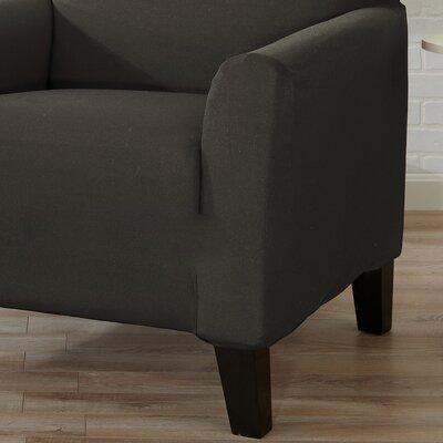 Box Cushion Sofa Slipcover Color: Cloudburst Gray