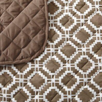 Box Cushion Sofa Slipcover Color: Fossil Brown