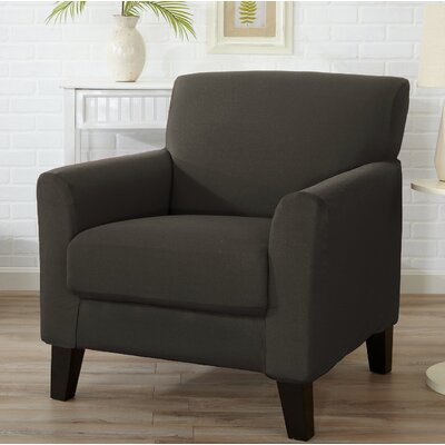 T-Cushion Armchair Slipcover Color: Cloudburst Gray