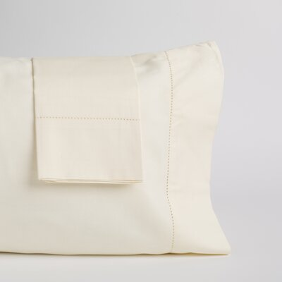 Gaffney Pillow Case Color: Ivory, Size: 20 H x 30 W x 0.5 D