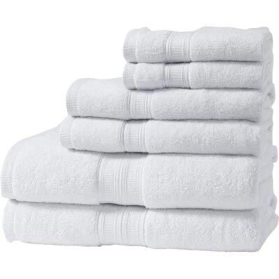 Chapelle Luxury Hotel/Spa 6 Piece Towel Set Color: White