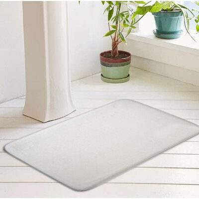Bath Rug Size: 20 W x 32 L, Color: Optic White