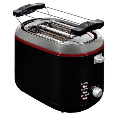 2 Scheiben Toaster mit Brötchenaufsatz   Küche und Esszimmer > Küchengeräte > Toaster   Black   Efbe