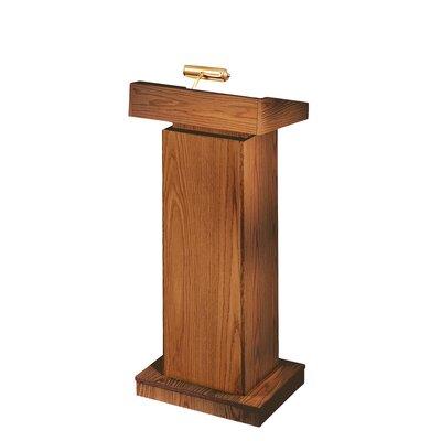 Orator Height Adjusting Full Podium Finish: Medium Oak