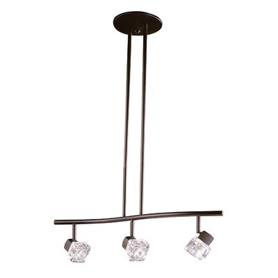 Nova 3-Light Kitchen Island Pendant Finish: Oil Rubbed Bronze