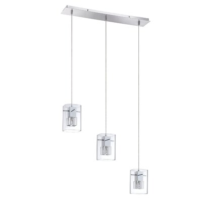 Metro 3-Light Cascade Pendant