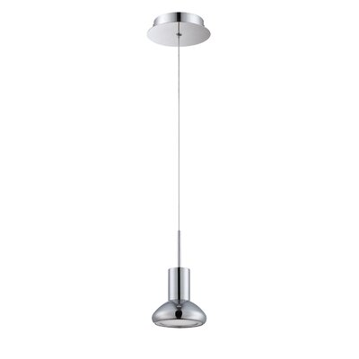 Step up 1-Light Mini Pendant Finish: Chrome