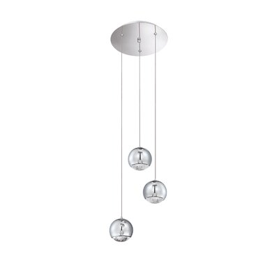 Spumante 3-Light Pendant