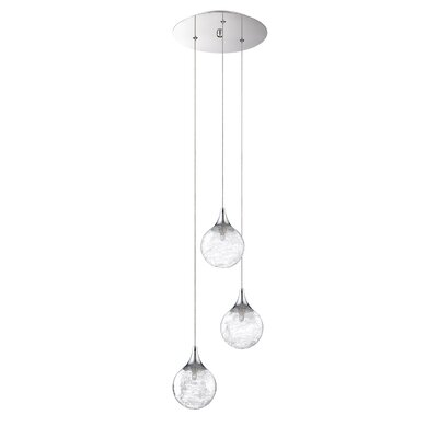 Chesterton 3-Light Cascade Pendant