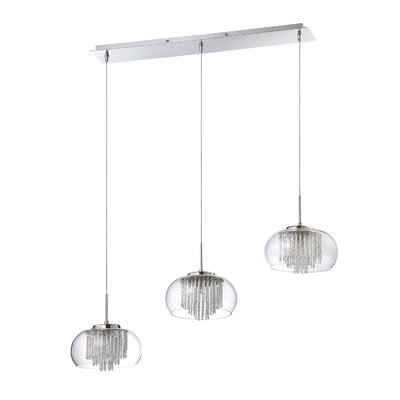 Piccolo 3-Light Cascade Pendant