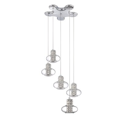 Aria 5-Light Pendant