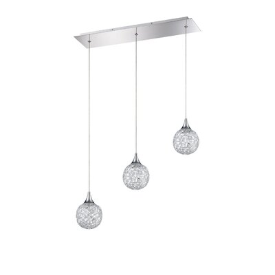 Solaro 3-Light Kitchen Island Pendant